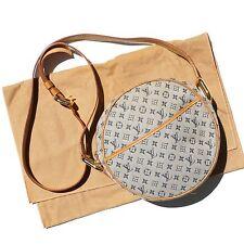 Louis Vuitton Monogram Mini Jeanne GM Crossbody Shoulder Bag Purse Authentic