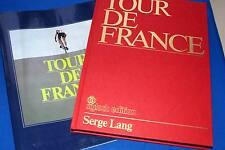 CYCLISME TOUR DE FRANCE SERGE LANG ILLUSTRE BAUMANN STELLWAAG 1980 SIGLOCH