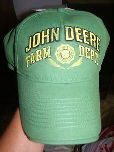 John Deere Ball Cap Hat big boys L/XL New with tags $18