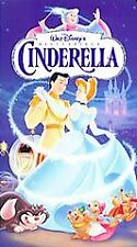 Cinderella (1995) VHS Walt Disney's Masterpiece Collection, Hard Clamshell Case
