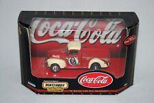 1999 Coca Cola Die Cast 1940 Ford Pickup Matchbox Collectibles 96554 NIB Coke