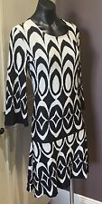 Charlie Brown Dress Size 6 Black Cream As New Stunning sale