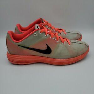 Nike Women's Sz 7.5 LunaRacer 2 - Pure Platinum/Black/Solar Red 324903-006
