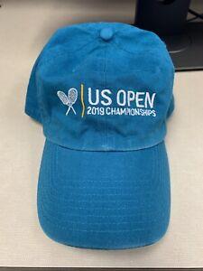2019 US Open Women's Final 2019 Championship Hat Cap Turquoise Brand New!