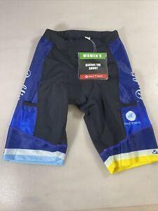 Pactimo womens ascent tri triathlon shorts Small S (7685-10)