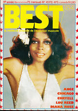 BEST 64 (11/73) DIANA ROSS ANGE CHICAGO LOU REED CORYELL JULIEN CLERC CHARLEBOIS