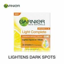 Garnier Skin Naturals, Light Complete Serum Cream SPF 19, 45gm