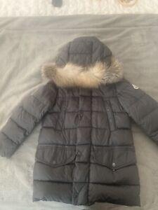 Moncler Boys Coat Age 8 Genuine detachable fur trim collar