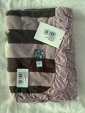 New listing New Kickee Pants Ruffle Stroller Blanket in Paleontology/Flora Stripe