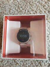 New Fossil Gen 4 Smartwatch - Venture HR 40mm Blush Leather Rose Gold