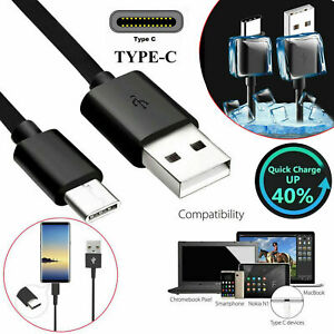 Genuine Type C USB Data Sync Charger charging Cable For Samsung Galaxy Mobiles