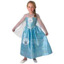 Costumi e travestimenti vestiti blu per carnevale e teatro per bambine e ragazze Taglia 3-4 anni