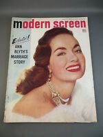 1953 July MODERN SCREEN Movie Magazine Full Issue ANNE BLYTH Cover