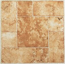 Vinyl Floor Tiles Self Adhesive Peel And Stick Bath Kitchen Flooring 12x12 45pc