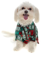 Soft & Cozy Holiday Pet Angel Wrap,  Green, Size S