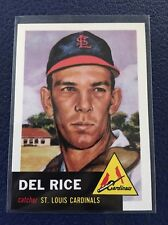 DEL RICE CARDINALS  1953 TOPPS ARCHIVES #68  NM-MT+