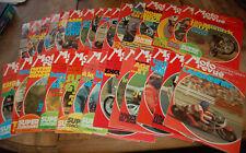 Ancien lot de 29  Revues  MOTO REVUE  1974  Motocycliste collection