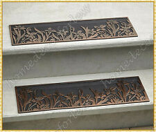 RUBBER STAIR STEP TREADS MATS FLORAL DESIGN OUTDOOR PORCH TRACTION ~ CHOICES