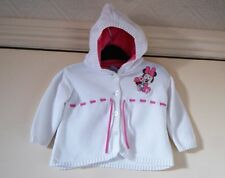 Baby Girl's Minnie Mouse Hooded Cardigan/Jacket by Disney size 3-6 mths