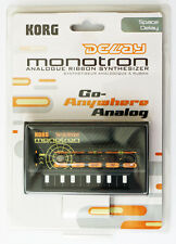 Korg Analog Synthesizer Monotron DELAY (BRAND NEW IN PACKAGE)