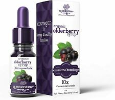 Elderberry Hill Elderberry Syrup Immune Support Drops Concentrate Liquid Extract