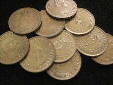 Malaya and British Borneo Malaysia 5 Cents 1958 CH BU lot of 10 BU coins