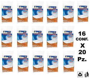 320 PZ. PANNO CATTURAPOLVERE L'UNICO ORIGINALE Cm. 30 X 50 - 16 CONF. DA 20 Pz.