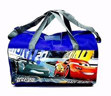 DISNEY'S CARS 3 SPORTS BAG GYM BAG SCHOOL BAG WEEKEND BAG BRAND NEW