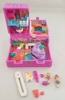 Vintage Polly Pocket 1996 Surf 'n' Swim Treasure Chest Compact Case COMPLETE