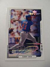 RARE Sammy Sosa Upper Deck MVP Superscript Super Script #'d 08/25 Chicago Cubs