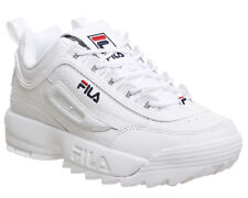 Women&Men Originale FILA Disruptor II 2 White Authentic Shoes EUR Size 36-44