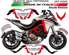 Kit adesivi per Ducati multistrada 950 - 1200 DVT Red