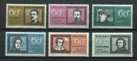 35692) Poland 1962 MNH Famous Poles 6v Scott #1059/64