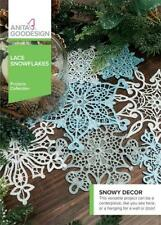 Lace Snowflakes Anita Goodesign Embroidery Machine Design CD NEW