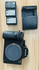 Sony Alpha a7S II With 3 Sony Batteries And Charger.