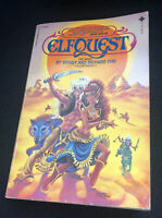 Elfquest The Novel by Wendy & Richard Pini Vintage Softcover 1982 First Print