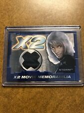 Halle Berry as Storm 2003 Topps Marvel X-Men X2 Movie Memorabilia Costume Card