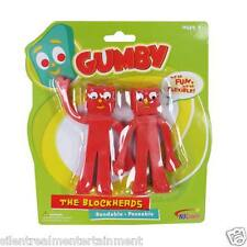 Gumby and Friends Blockheads Bendable 5-inch Figures 2-Pack by NJ Croce