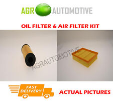 PETROL SERVICE KIT OIL AIR FILTER FOR MERCEDES-BENZ B180 1.7 116 BHP 2009-11