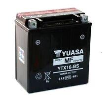 BATTERIA MOTO YTX20L-BS ORIGINALE YUASA BUELL M2 Cyclone 1200 97-02 + ACIDO