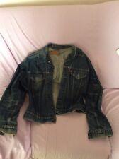 Rarissima giacca giubbino di jeans levi s 501 anni  90 tg xl vestibilita stretta