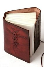 Handmade Leather Journal Dragon Diary Leather Emboss Sketchbook Notebook Artist