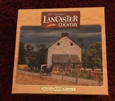 Sealed Bill Coleman's Lancaster Country 1000 Piece Puzzle Simplicity & Strength