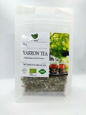 Woman's Health 100% ORGANIC YARROW Tea Loose Leaf Infusion Achillea millefolium