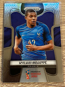 2018 KYLIAN MBAPPE Panini Prizm Soccer World Cup #80 RC Rookie Card