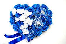 Herz Hochzeit Deko Brautauto Autoschmuck Hochzeitsauto Kunstblumen Braut LA77