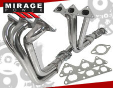 For 1991-1999 Mitsubishi 3000Gt Stealth 3.0L V6 Stainless Steel Exhaust Headers