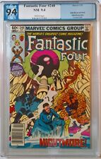 Fantastic Four #s 248 PGX 9.4 *GREAT PRICE!!*