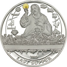 LAST SUPPER ~ $2 Palau 2015 Silver Proof Coin with COA+ Box