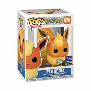 Pokemon - Flareon Diamond Glitter WC21 US Exclusive #629 Pop! Vinyl